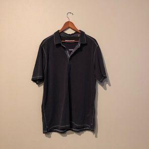 Tommy Bahama Black Polo